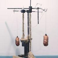 1talonic hybridity mixed media sculpture 2018
