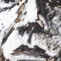 Charcoal choc self portrait