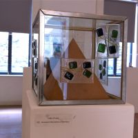 Kathleenolearyglasswoodandmetalsculpture invitedselectionrha2013