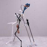 Landarrrmour mixed media sculpture 2019