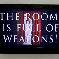 The room is full of weapons 2019